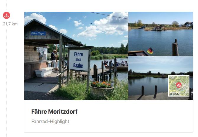 Fähre Moritzdorf - ein besonderes Erlebnis
