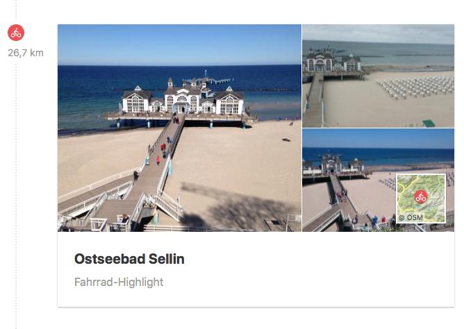 Wendepunkt erreicht! Ostseebad Sellin mit der weltberühmten Seebrücke
