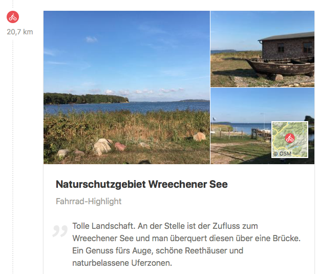 Naturschutzgebiet Wreechener See