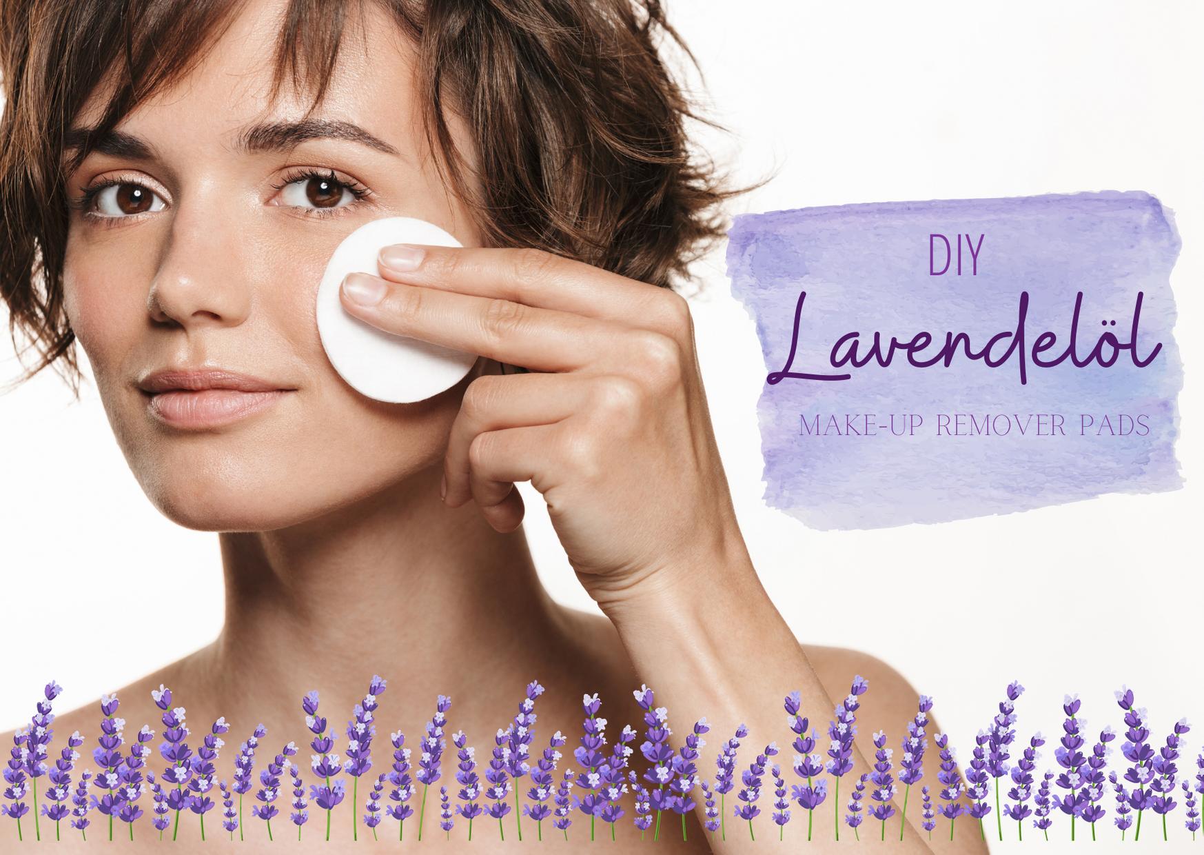 Für Mamas & Frauchen-  DIY Abschminkpads mit Lavendelöl