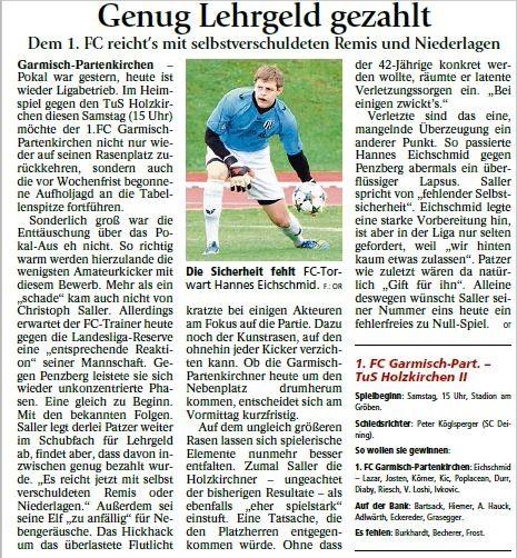 Ga-Pa Tagblatt vom 17.10.2015