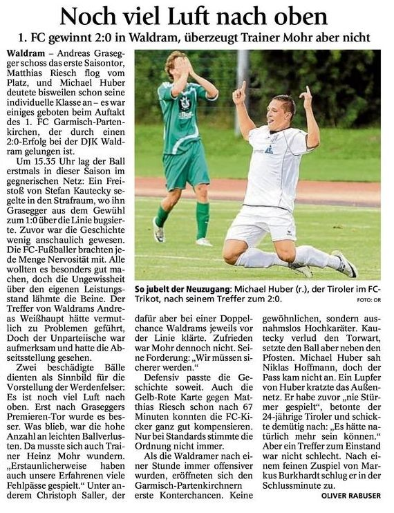 Ga Pa Tagblatt vom 30.7.2012