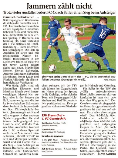 Ga-Pa Tagblatt vom 03.09.2016