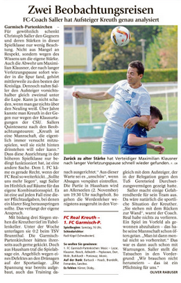 Ga-Pa Tagblatt vom 22.10.2016