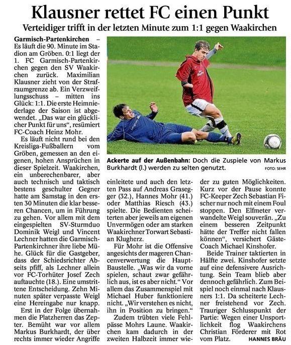 GaPa Tagblatt vom 24.09.2012