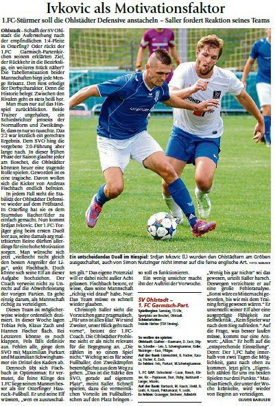 Ga-Pa Tagblatt vom 26.03.2016