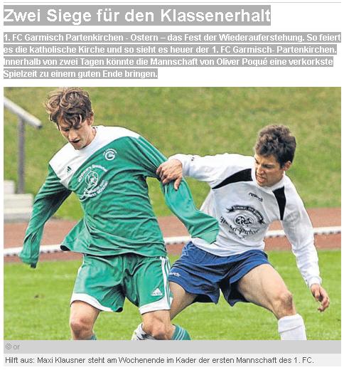 Artikel aus Fussball vor Ort vom 06.04.2012