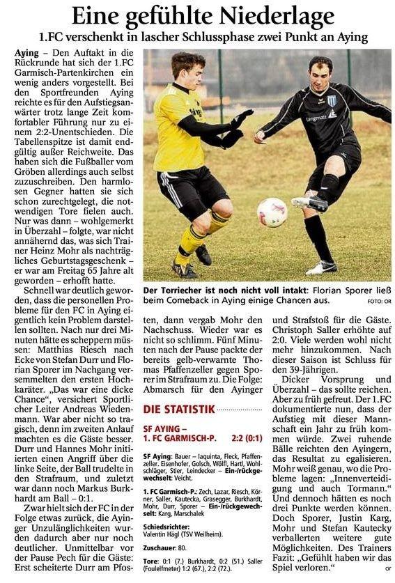 Ga Pa Tagblatt vom 25.03.2013