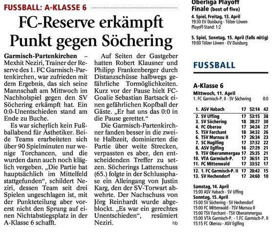 GaPa Tagblatt vom 13.04.2012