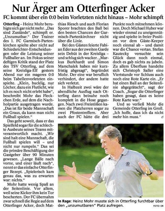 Ga Pa Tagblatt vom 25.04.2013