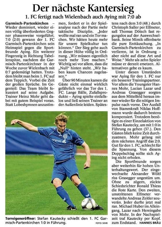 GaPa Tagblatt vom 27.08.2012