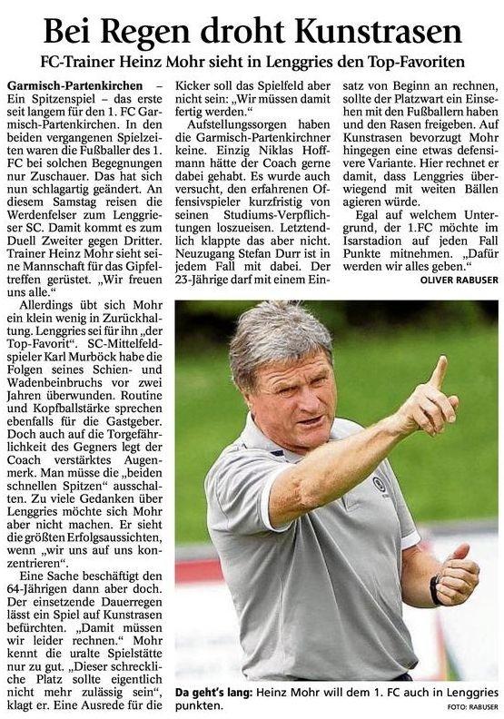 GaPa Tagblatt vom 01.09.2012