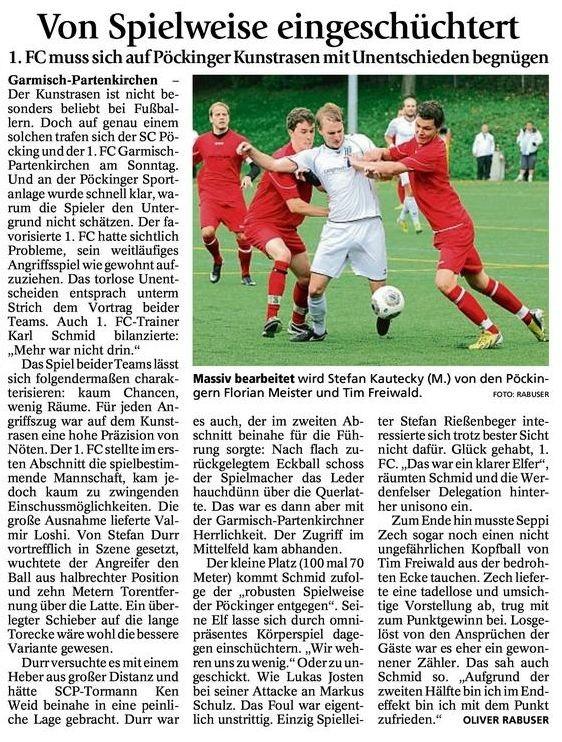 Ga-Pa Tagblatt vom 15.09.2014