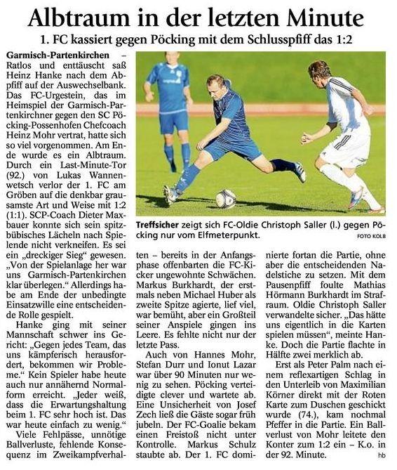 GaPa Tagblatt vom 22.10.2012