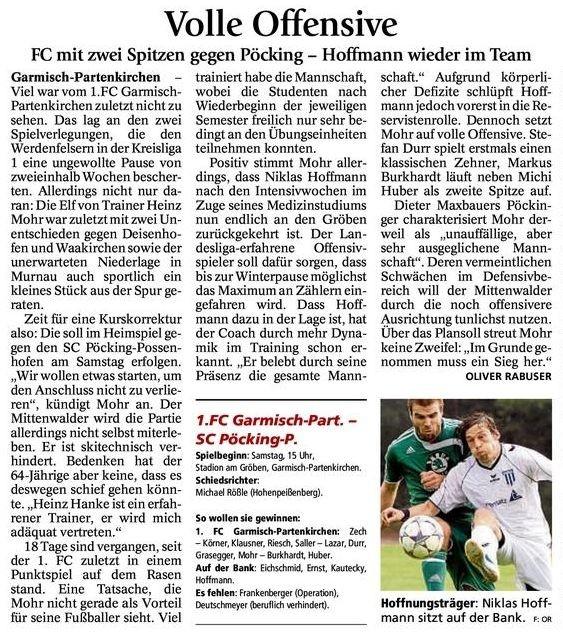 GaPa Tagblatt 20.10.2012