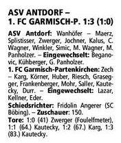GaPa Tagblatt vom 06.05.2013