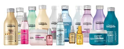 La gamme l'Oréal Professionnel