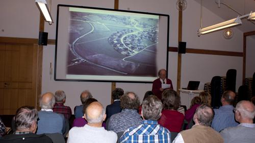 Vortrag des Vorsitzenden Manfred Schaumann zur Geschichte des BUND-Staig