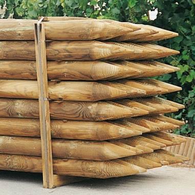 Tutores de madera para jardines en Tenerife