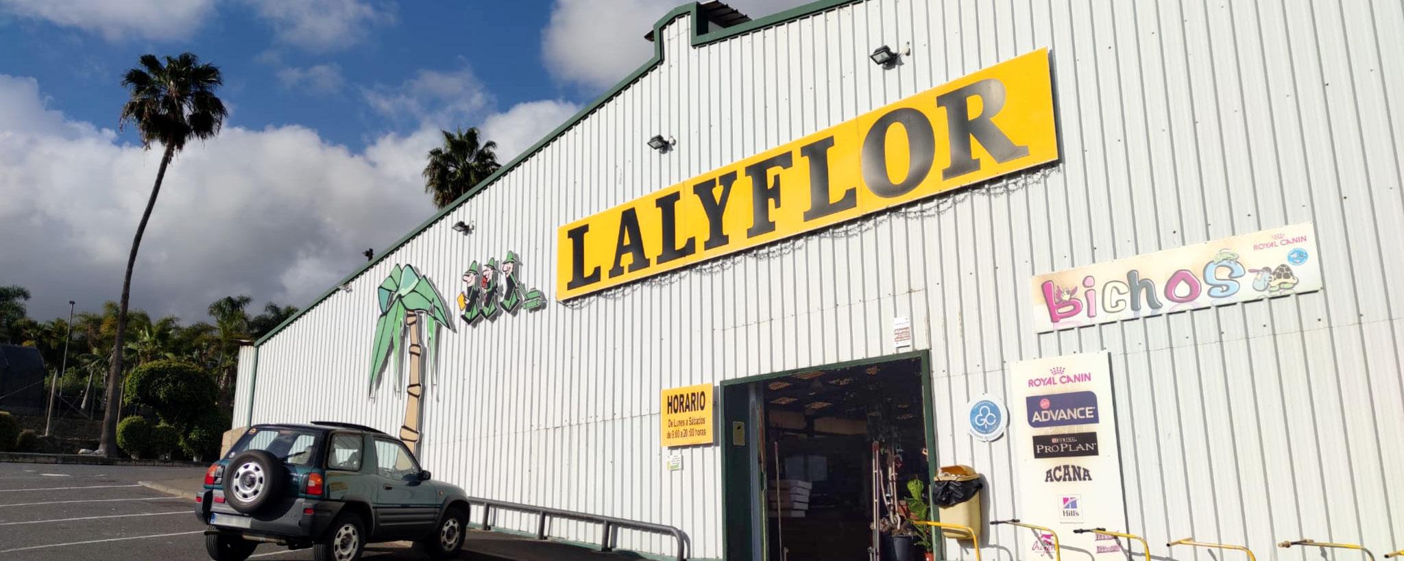 Lalyflor Garden Center en La Orotava