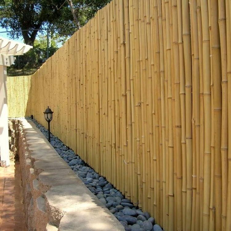 Cerramientos de bambú