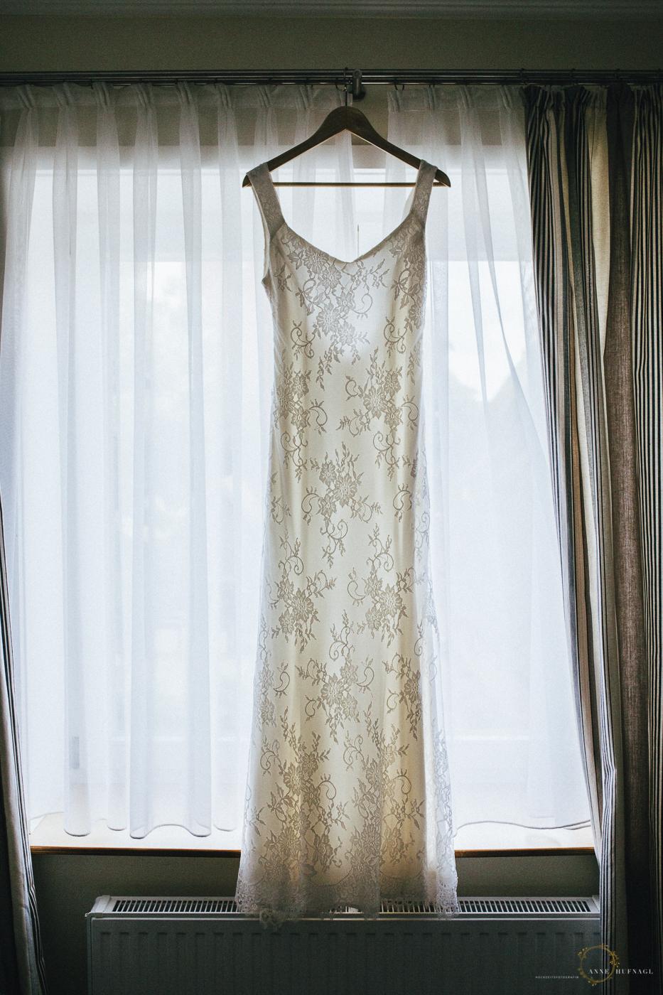 Wunderschönes DIY Hochzeitskleid selbstgenäht von der Braut