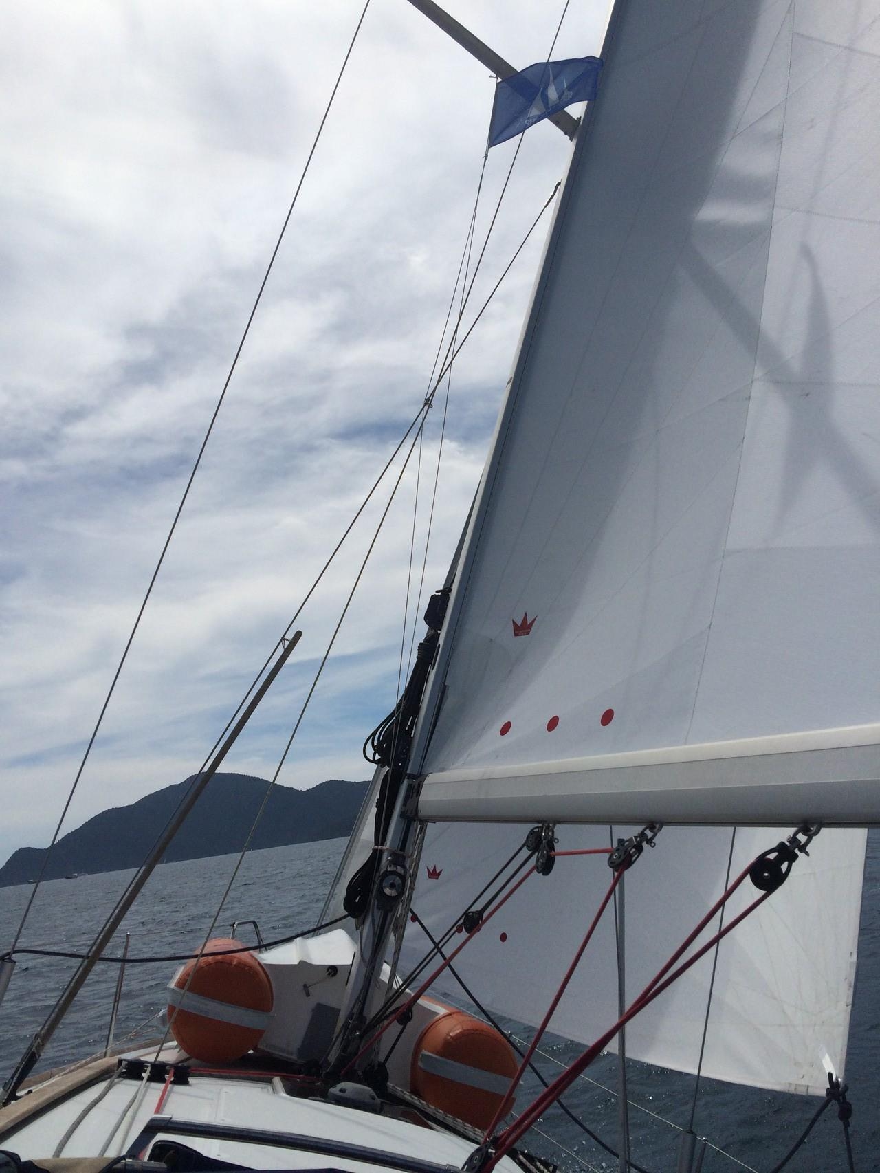Am Wind im Golf von Fethiye