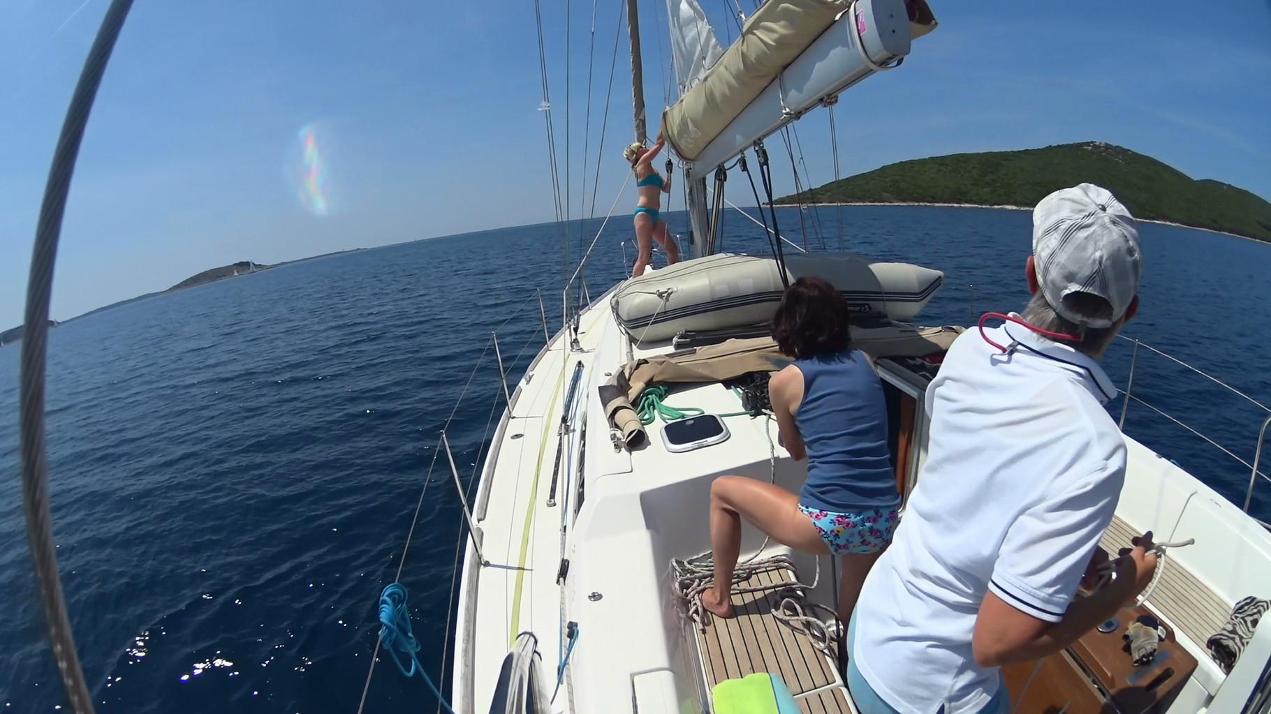 Segelspaß beim MädelTörn in Kroatien
