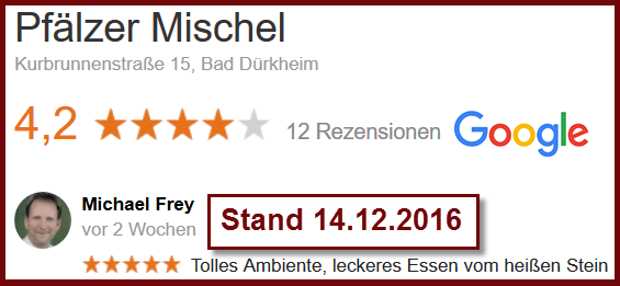 Google-Rezension: Michael Frey am 14.12.2016