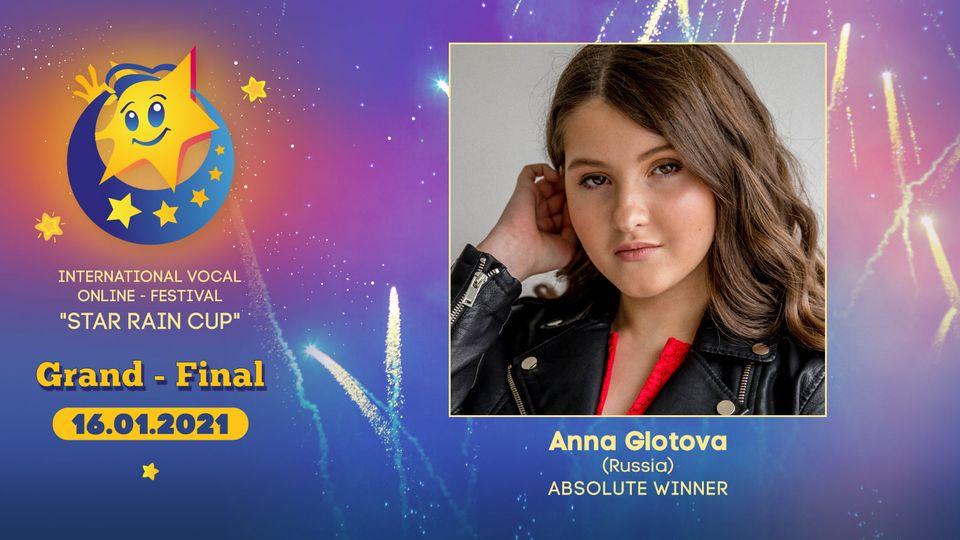 """2021: Anna Glotova aus Russland ist die absolute Gewinnerin des """"Star Rain Cup"""""""