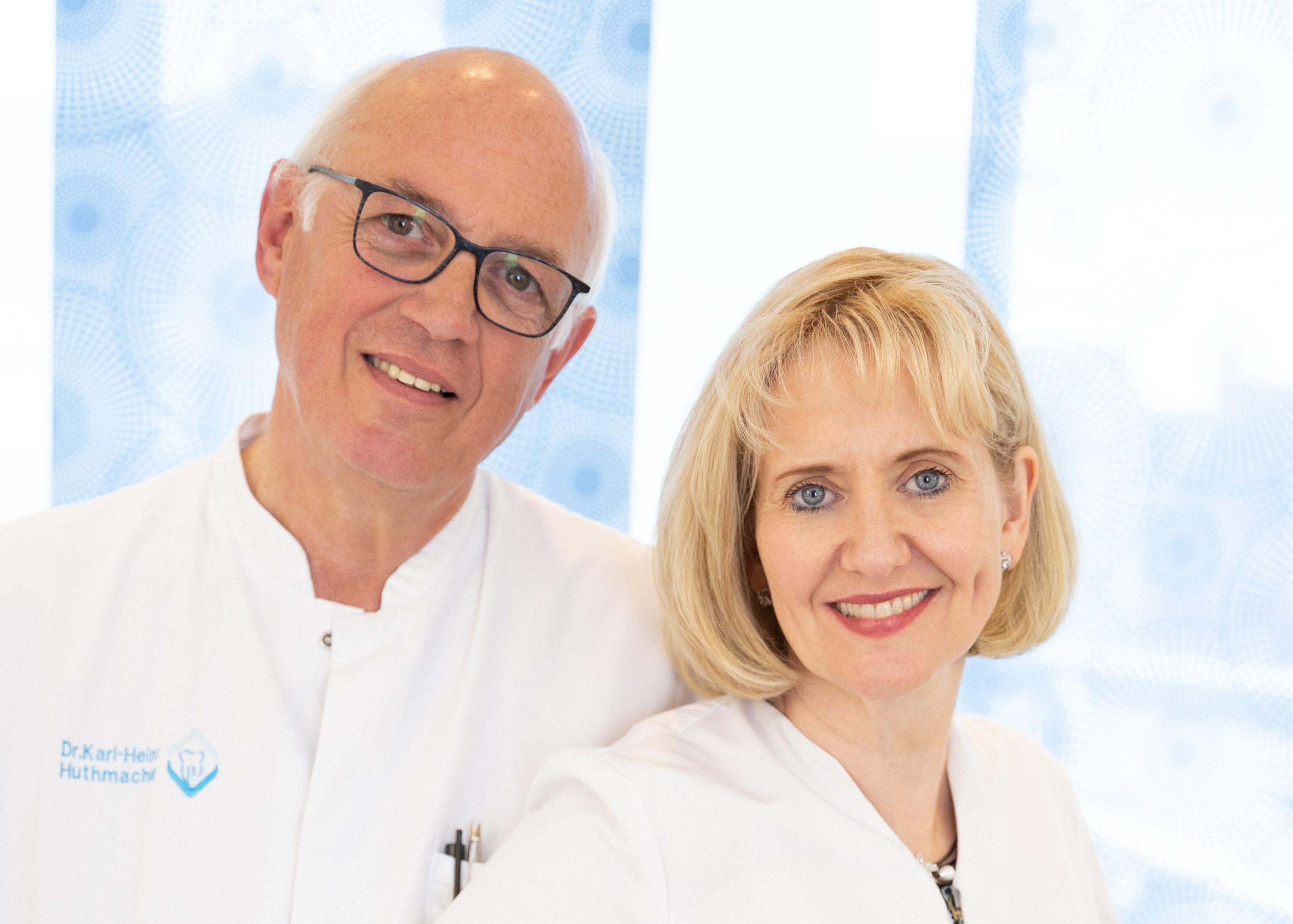Das Team der Zahnarztpraxis Dr. Huthmacher und Dr. Püttmann-Isfort