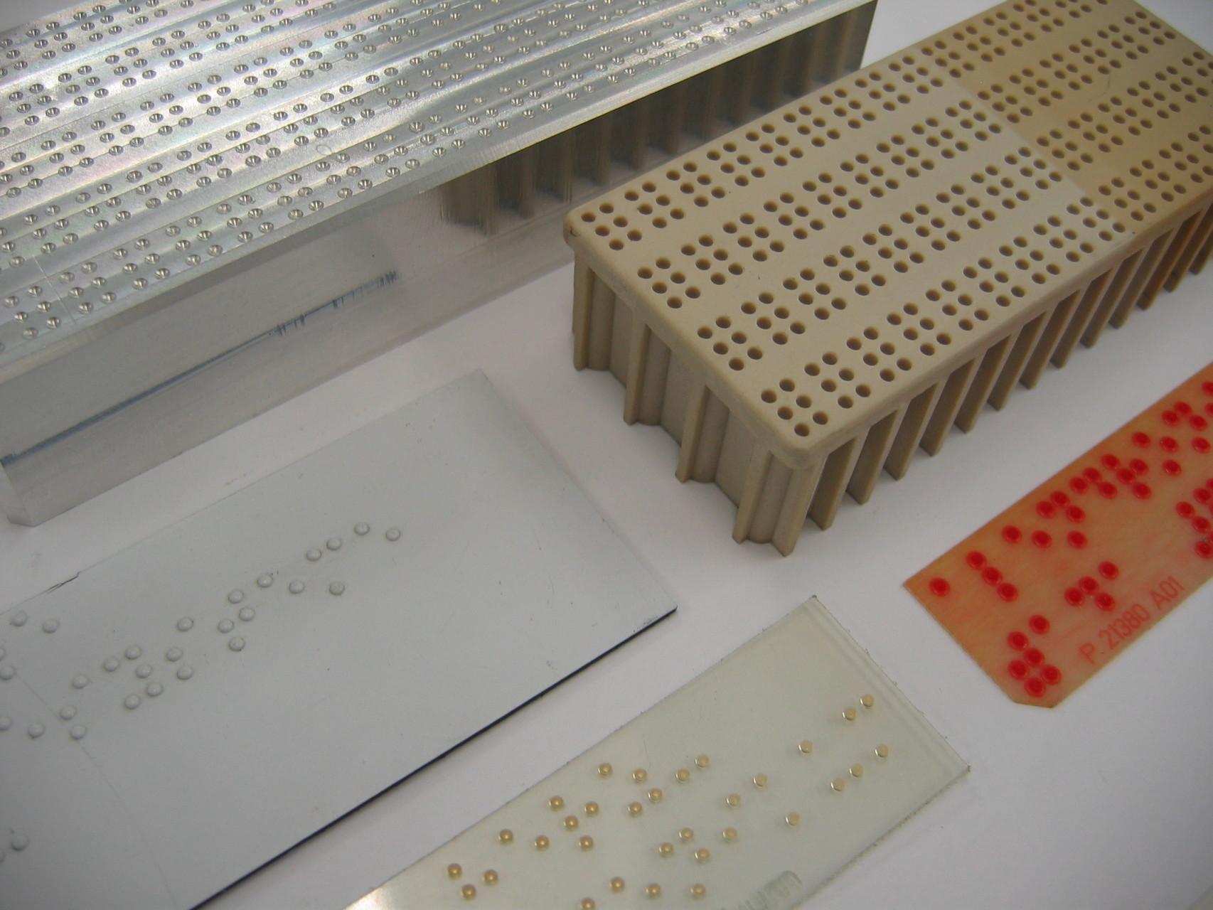 Blindenschrift / Braille