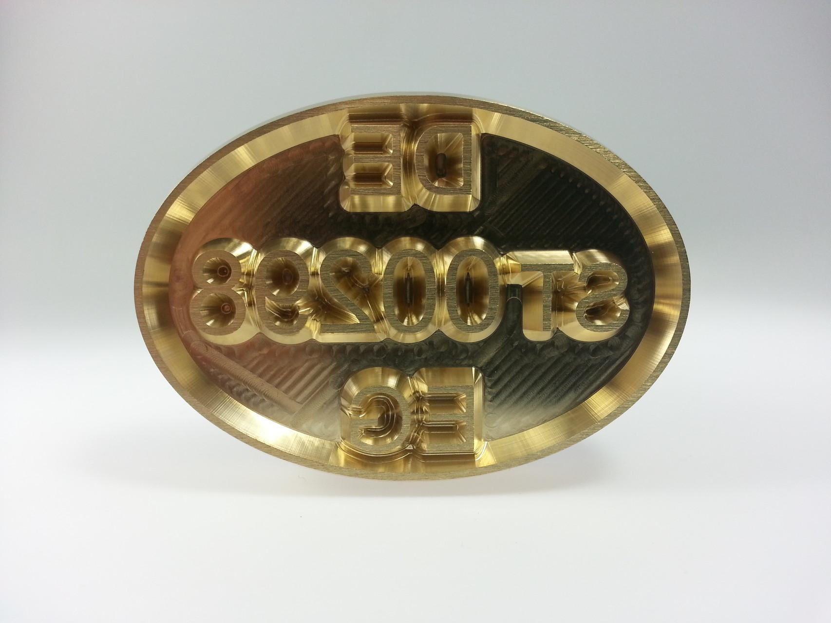 oval DEUTSCHLAND ES EWG mit Nummer und Rand 65 x 45 mm