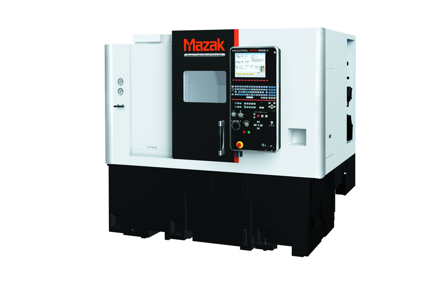 CNC-Drehmaschine mit Gegenspindel und angetriebenen Werkzeugen