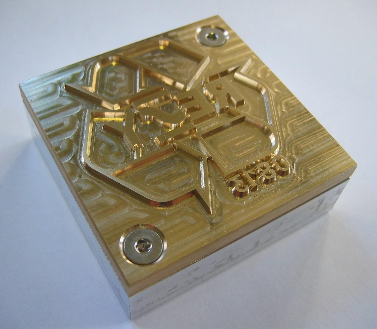 Heißprägestempel mit Aluminium-Fundament, Heißfolienstempel, Heißfolienprägestempel, Golddruckstempel, Lederprägestempel, Folienprägestempel, Heißprägewerkzeug, Druckklischees, Prägeklischees