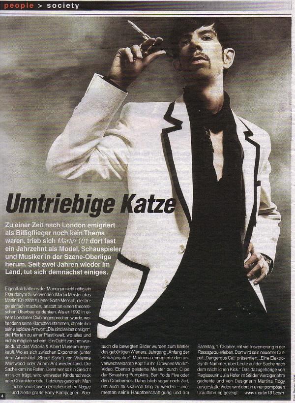 Martin Meister Heute Tageszeitung
