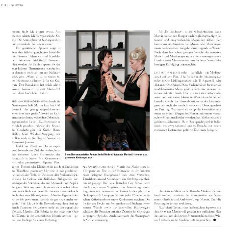 Falter Best Of Vienna print editorial