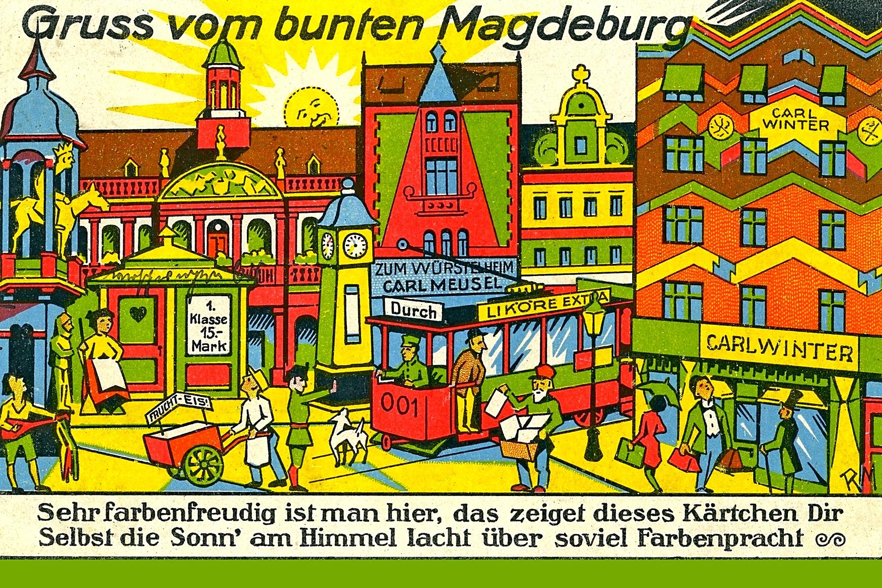 Buntes Magdeburg