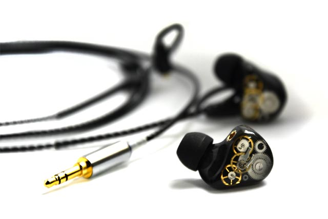 Ecouteurs intra-auriculaires in-ear monitors EA H202P de Erdre Audio