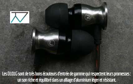 Test des écouteurs Erdre Audio D101G sur TechnoNews
