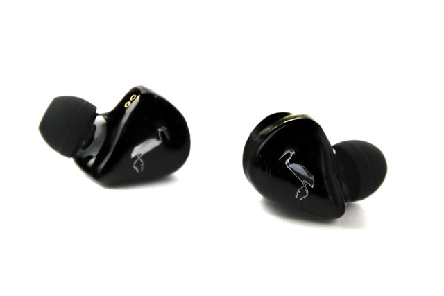 Ecouteurs intra-auriculaires in-ear monitors Erdre Audio Heron Stage 2