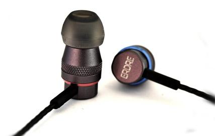 Ecouteurs intra-auriculaires Erdre D201G à double transducteurs dynamiques de la marque française Erdre Audio