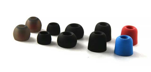 Zomm sur plusieurs embouts pour écouteurs intra-auriculaires Erdre Audio