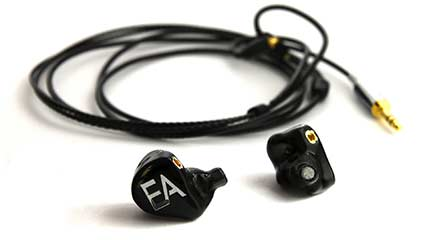 Ecouteurs intra auriculaires in ear monitors EA B601B de Erdre Audio