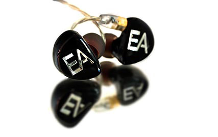 Ecouteurs intra-auriculaires in-ear monitors Erdre Audio EA H201B