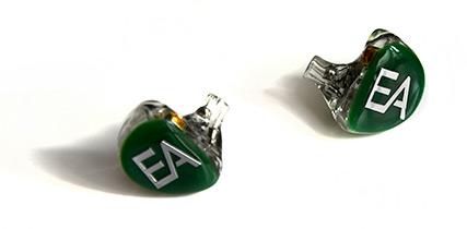 Ecouteurs Erdre Audio EA 502 couleur verte
