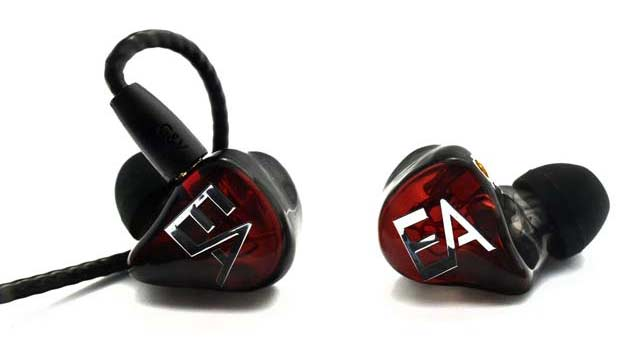 écouteurs intra-auriculaires de type in ear monitors Erdre Audio EA H202 RN