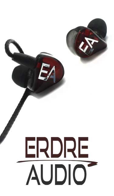 Pour les transports, les balades, le travail, la maison, ou même la scène et le studio si vous êtes musicien, découvrez les écouteurs et in-ear monitors Erdre Audio