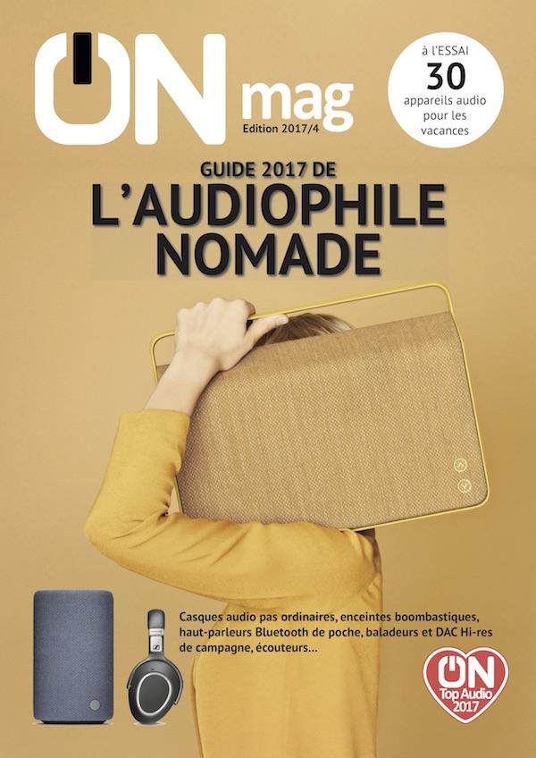 """Les écouteurs Erdre D201G à double transducteurs dynamiques de la marque Erdre Audio ont été sélectionnés pour le prestigieux """"guide de l'audiophile nomade"""" du magazine ON Mag"""