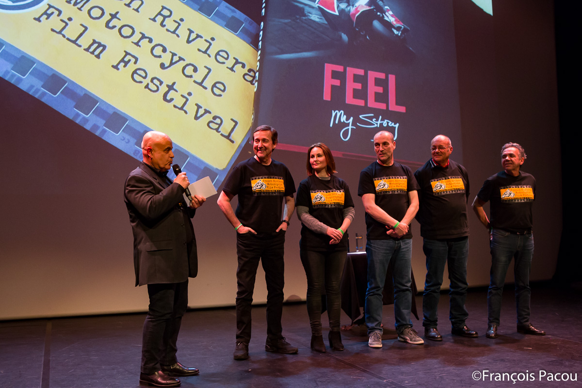 O. Wagner, founder of the Festival and the Jury headed by Freddie Spencer